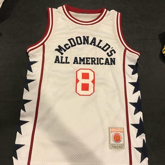 purchase cheap 41203 be2b5 NWOT Kobe Bryant McDonalds All American Jersey